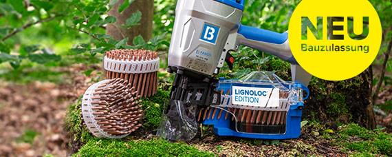 Bauzulassung für LIGNOLOC® Holznägel