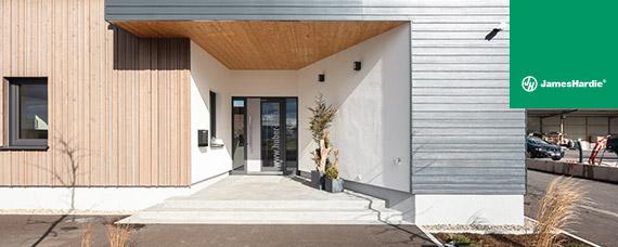 JamesHardie® Fassadenlösungen aus Faserzement