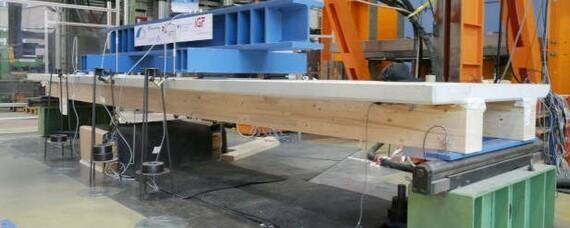 Holz-Beton-Verbundelemente: Kleben statt Schrauben