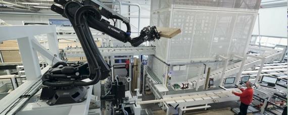 Roboter im Fertigbau: Holzbau auf Knopfdruck