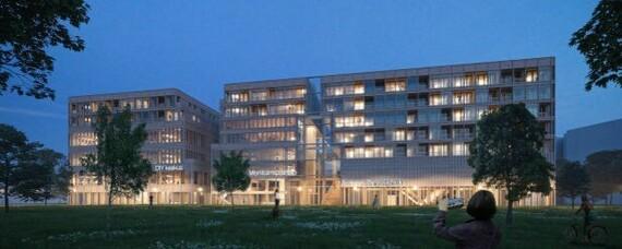 Urbanes modulares Holzdesign