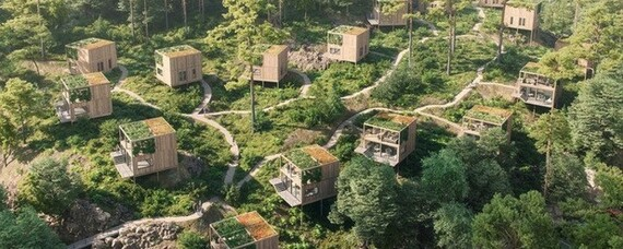 Tiny-House-Siedlung: Holz rein, Autos raus