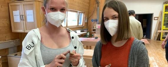 Immer mehr Frauen arbeiten im Holzbau