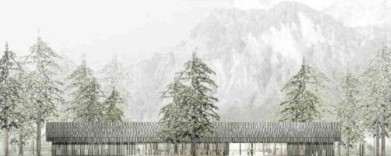 Freilichtmuseum Salzburg: Neues Besucherzentrum aus Holz