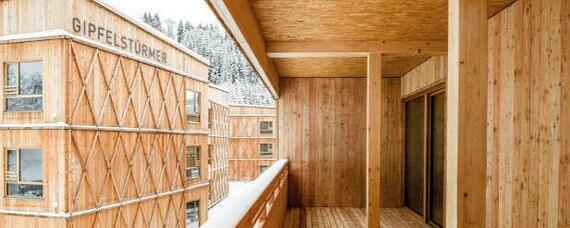 Europäisches Gemeinschaftsprojekt für mehr großvolumige Holzbauten