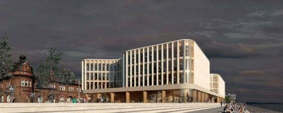 Stora Enso: Neuer Firmensitz aus Holz