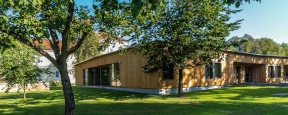 Zweites Holzkrankenhaus in Graz eröffnet