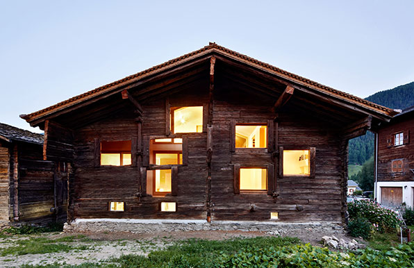 Holz In Tradition Umhullt Moderne