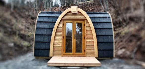 Stilvoll campen mit Holz