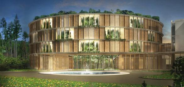 matteo thun baut ein hotel f rs krankenhaus. Black Bedroom Furniture Sets. Home Design Ideas