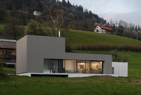 Moderne Architektur im Ländle