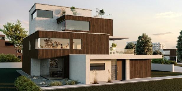 Trenddesign: Edle Fassaden mit neuen Strukturen und Farben