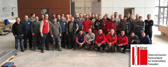 Die erste österreichische VHF Fassadenakademie optimiert Theorie und Praxis